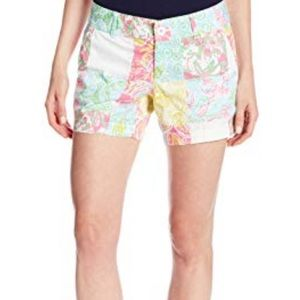 Lilly Pulitzer Patchwork Callahan shorts!